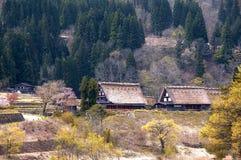 The Historic Villages of Shirakawago Stock Photos