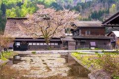 The Historic Villages of Shirakawago Royalty Free Stock Image