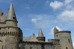 Historic Vitre Castle Stock Images