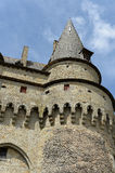 Historic Vitre Castle Royalty Free Stock Images