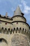 Historic Vitre Castle. Historic, medieval castle called Vitre Castle or Chateau de Vitre, Vitre, France Royalty Free Stock Images