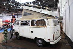 Historic Vokswagen Camping Van T1 Royalty Free Stock Photos