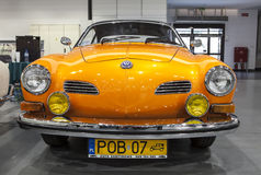 Historic Volkswagen Karmann on display Stock Images