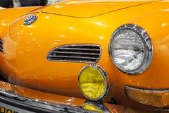 Historic Volkswagen Karmann on display Stock Photos