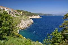 Historic Vrbnik, Krk Island in Croatia royalty free stock photography
