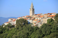 Historic Vrbnik on Krk Island, Croatia royalty free stock image