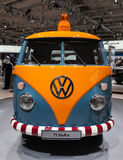 Historic VW T1 DoKa Royalty Free Stock Photo