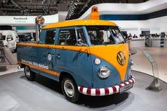 Historic VW T1 DoKa Royalty Free Stock Photos