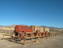 Historic Wagon. In Death Valley national park in California Royalty Free Stock Image