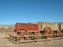 Historic wagon. In Death Valley national park in California Royalty Free Stock Images