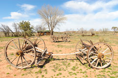Historic wagons Stock Photo