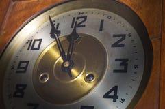 Historic wall clock Royalty Free Stock Photo