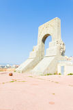 Historic War Monument in Marseilles Stock Images