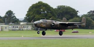 Historic War Plane stock image