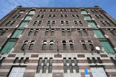 Historic Warehouse in Rotterdam, Holland Royalty Free Stock Image