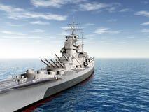 Historic Warship Royalty Free Stock Images