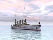 Historic Warship Royalty Free Stock Photos