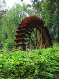 Historic water mill wheel Stock Image