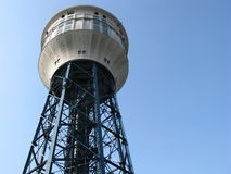 Historic water tower of steel Royalty Free Stock Photo