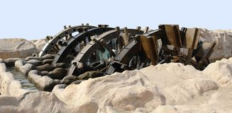 Historic water wheel Royalty Free Stock Images