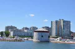 Historic Waterfront of Kingston, Ontario Stock Image