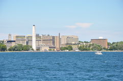 Historic Waterfront of Kingston, Ontario Royalty Free Stock Photo