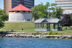 Historic Waterfront of Kingston, Ontario Royalty Free Stock Images