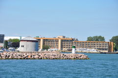 Historic Waterfront of Kingston, Ontario Royalty Free Stock Photos