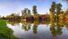 Historic Watermill - Kolarovo Royalty Free Stock Image
