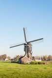 Historic watermill in the Netherlands Stock Photography