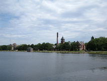 Historic Waterworks building in Boston Stock Photo