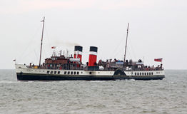 Historic waverley paddle steamer boat Stock Images