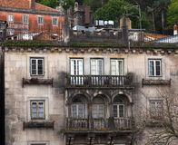 Historic Weathered Architecture Sintra Portugal royalty free stock photography