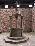 Historic well at Haut-Koenigsbourg Castle Royalty Free Stock Photo