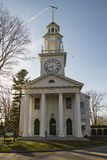 Historic White Church Royalty Free Stock Photography