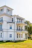 Historic White House At Baltic Sea Coast Royalty Free Stock Photo