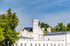 Historic white house at Baltic Sea coast. In spa town Heiligendamm, Germany Stock Photography