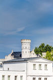 Historic white house at Baltic Sea coast. In spa town Heiligendamm, Germany Stock Photo