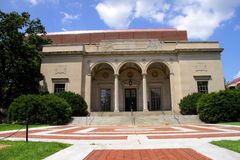 Historic William I clements library. In University of Michigan Royalty Free Stock Photo