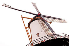 historic wind Mill in perspective Royalty Free Stock Photography