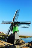 Historic Windmill in Holland Royalty Free Stock Image