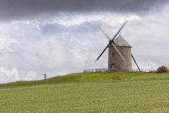 Historic windmill of Moidrey, Normandy Stock Photos