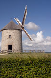 Historic windmill Moulin St. Michel in Brittany Royalty Free Stock Image