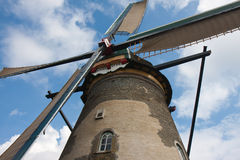 Historic Windmill in the Netherlands Royalty Free Stock Images