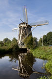 Historic windmill in the Netherlands Stock Photos