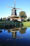 The historic Windmill Pelmolen in the Province Overijssel, The Netherlands stock image