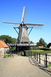 Historic windmill in the Province Friesland, The Netherlands Royalty Free Stock Photography