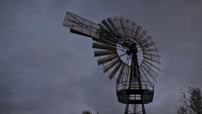 Historic windmill stock footage