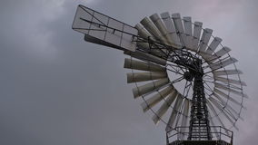 Historic windmill stock video footage