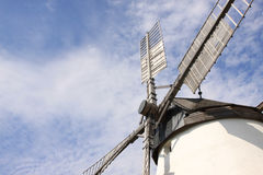 Historic Windmill. In the village of Retz in east Austria Stock Image